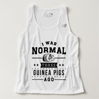 I Was Normal Three Guinea Pigs Ago Tank Top