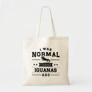 I Was Normal Three Iguanas Ago Tote Bag
