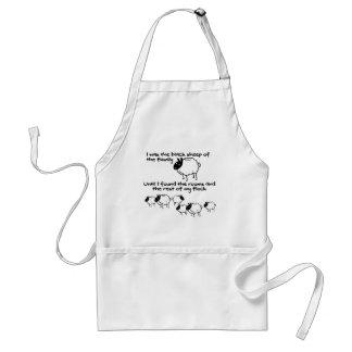 I was the black sheep standard apron