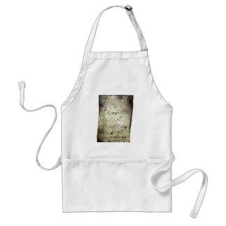 I wasn't born at Encausticamp apron