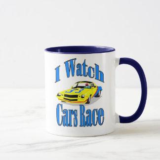 I Watch Cars Race Mug
