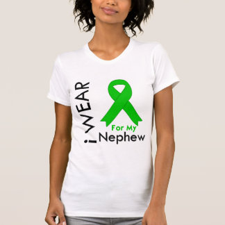 I Wear a Green Ribbon For My Nephew Tee Shirts