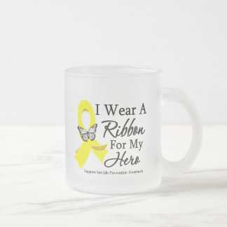 I Wear a Ribbon HERO Suicide Prevention Mugs