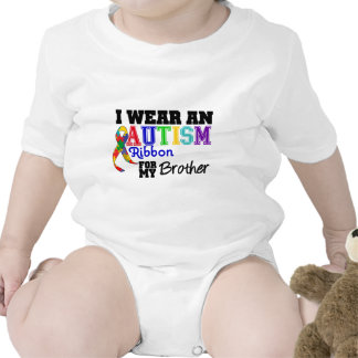 I Wear An Autism Ribbon For My Brother T Shirts
