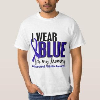 I Wear Blue Mommy Rheumatoid Arthritis RA T-Shirt