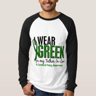 I Wear Green For Father-In-Law 10 Cerebral Palsy T Shirts