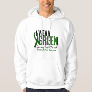 I Wear Green For My Best Friend 10 Cerebral Palsy Hoodie
