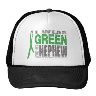 I wear green for my nephew trucker hat