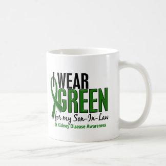 I Wear Green For My Son-In-Law 10 Kidney Disease Coffee Mug