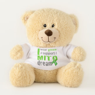 I wear green to support the Mito dream Teddy Bear