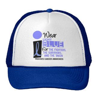 I Wear Light Blue For Fighters Survivors Taken 9 Mesh Hat