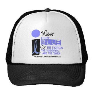 I Wear Light Blue For Fighters Survivors Taken 9 Trucker Hats