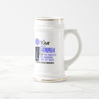 I Wear Light Blue For Fighters Survivors Taken 9 Mug