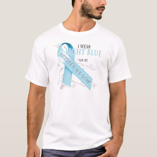 I Wear Light Blue for my Father-In-Law T-Shirt