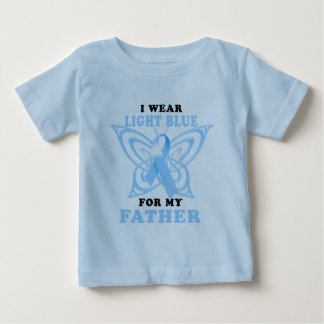 I Wear Light Blue for my Father T-shirt