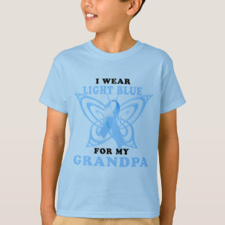 I Wear Light Blue for my Grandpa T-Shirt