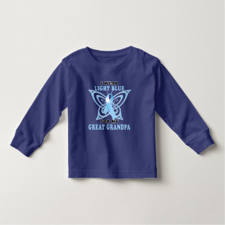 I Wear Light Blue for my Great Grandpa T Shirt