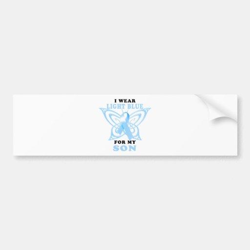 I Wear Light Blue for my Son Bumper Sticker