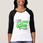 I Wear Lime Green 42 Daughter Muscular Dystrophy T Shirt