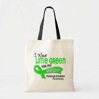 I Wear Lime Green 42 Grandson Muscular Dystrophy