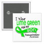 I Wear Lime Green 42 Son Muscular Dystrophy