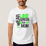 I Wear Lime Green For My Mom Lymphoma Tees