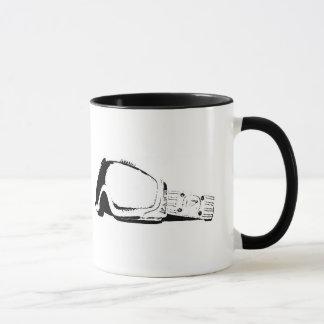 I wear my snowboard goggles in bed... mug