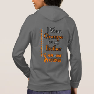 I Wear Orange for...Brother Hoodie