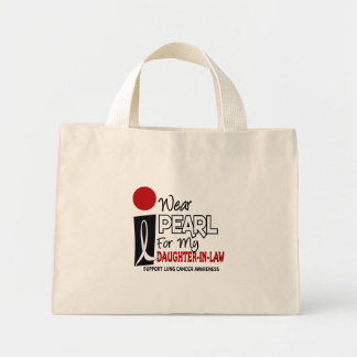 I Wear Pearl For My Daughter-In-Law 9 Mini Tote Bag