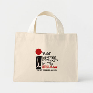 I Wear Pearl For My Sister-In-Law 9 Mini Tote Bag