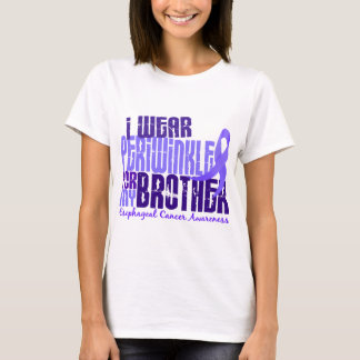 I Wear Periwinkle Brother 6.4 Esophageal Cancer T-Shirt