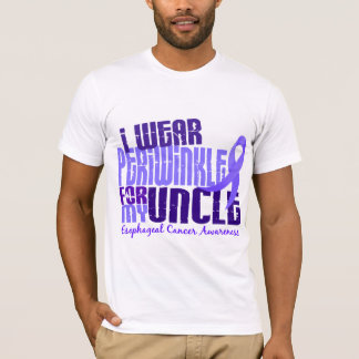 I Wear Periwinkle For Uncle 6.4 Esophageal Cancer T-Shirt