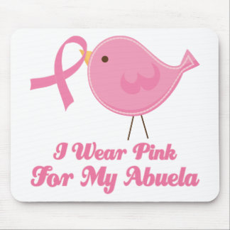 I Wear Pink For My Abuela Mouse Pad