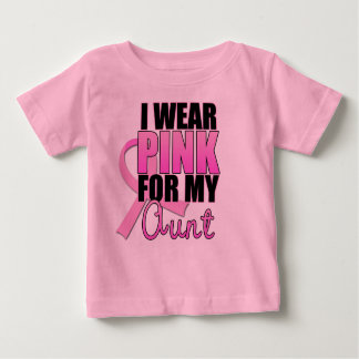 I Wear Pink for My Aunt Shirts