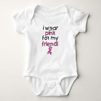 I Wear Pink for My Friend ($18.95) Baby Bodysuit