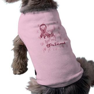 I wear Pink for my Friend Doggie Tee