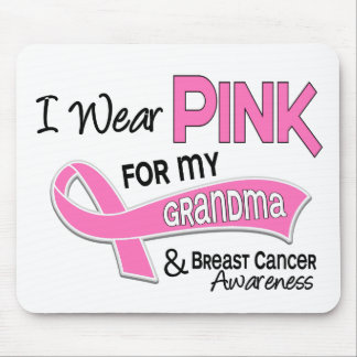 I Wear Pink For My Grandma 42 Breast Cancer Mouse Pad