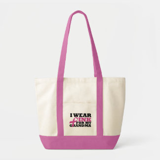 I Wear Pink for my Grandma Bag