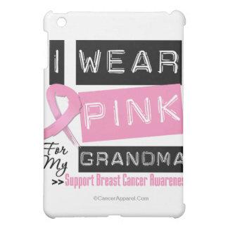 I Wear Pink For My Grandma Breast Cancer iPad Mini Case