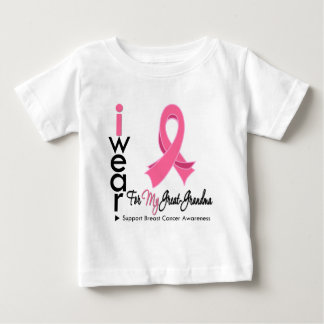 I Wear Pink For My Great Grandma Breast Cancer Tees
