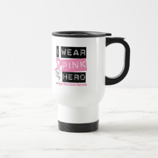 I Wear Pink For My Hero Breast Cancer.png Mug