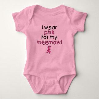 I Wear Pink for My MeeMaw ($18.95) Baby Bodysuit
