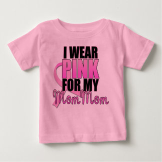 I Wear Pink for My Mom Mom - Breast Cancer T-shirts