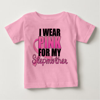 I Wear Pink for My Stepmother Tee Shirts