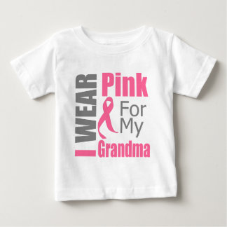 I Wear Pink Ribbon For My Grandma BREAST CANCER T-shirts