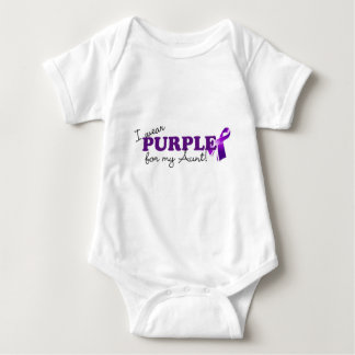 I Wear Purple Baby Bodysuit