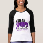 I Wear Purple For My Daughter 10 Epilepsy T-Shirt
