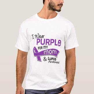 I Wear Purple For My Mom 42 Lupus T-Shirt