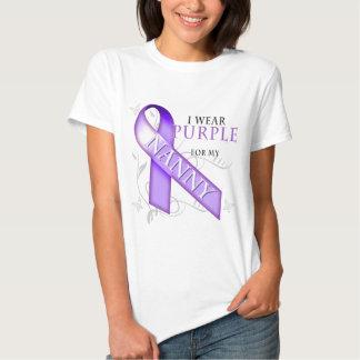 I Wear Purple for my Nanny T-shirts