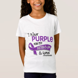 I Wear Purple For My Sister-In-Law 42 Lupus T-Shirt